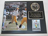 Brett Favre Green Bay Packers Collectors Clock Plaque w/8x10 Photo and Card at Amazon.com