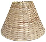 "12"" Round Cane Lamp Shade for Table Lamp"