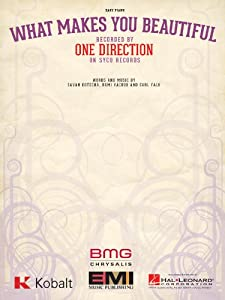 One Direction - What Makes You Beautiful - Easy Piano Sheet Music from EMI Music Publishing