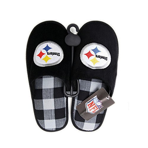 NFL Pittsburgh Steelers Slippers [Medium - 8.5-10] at SteelerMania