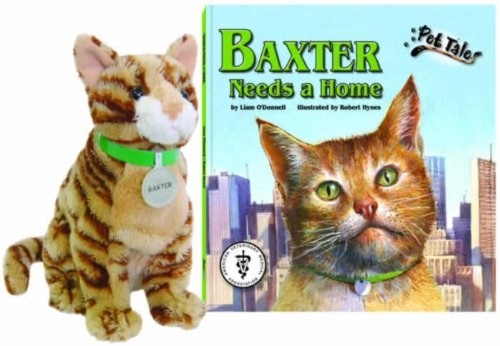 Baxter Needs a Home (Pet Tales Book & Toy Set) (Mini book with stuffed toy)