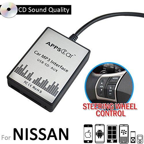 Cheap Apps2Car USB SD AUX Input MP3 Audio Adapter Digital CD