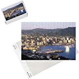 Photo Jigsaw Puzzle of City Skyline a Harbour, Wellington, North Island, New Zealand from AWL Discover Images