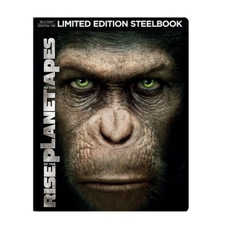 Rise of the Planet of the Apes Limited Edition Steelbook (Blu Ray + Digital HD)