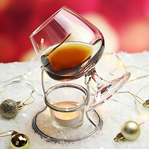 cognac-brandy-warmer-with-glass-by-bardrinkstuff-includes-brandy-glass-brandy-warmer-stand-tealight-