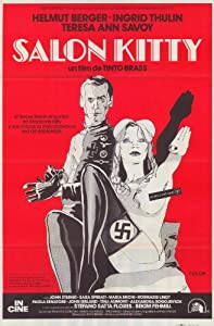 Salon Kitty Movie Poster (11 x 17 Inches - 28cm x 44cm) (1976) Spanish Style A -(Helmut Berger)(Ingrid Thulin)(Teresa Ann Savoy)(John Steiner)(Sara Sperati)