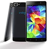 Indigi® NEW! Ultra-Slim 3G SmartPhone Phablet 5.5-inches Capacitive Touch Screen Android 4.4 Google Play Store Dual-Sim Dual-Standby Dual-Cameras (Black)