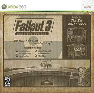 Fallout 3: Amazon.com Exclusive Survival Edition -Xbox 360