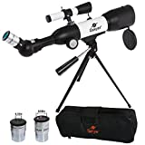 Gskyer AZ350X50 Refractor Travel Telescope with German Technology