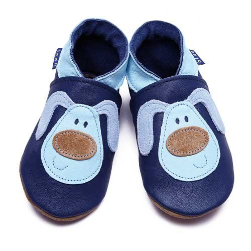 Inch Blue Baby Shoes - Mucky Puppy: Navy