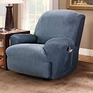 Amazon.com - Sure Fit Logan T - cushion Loveseat Slipcover ...  |Amazon Sure Fit Slipcovers