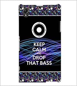 PrintDhaba Quote D-2522 Back Case Cover for SONY XPERIA Z1 (Multi-Coloured)