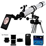 YA Cellphone Eyepiece Adapter for Spotting Scopes/Telescopes/Microscopes Compatible with Samsug Galaxy S3 I9300 [Images Fully Displaying on The Screen] [Focal Length of 14mm] [Visual Angle 75degrees]
