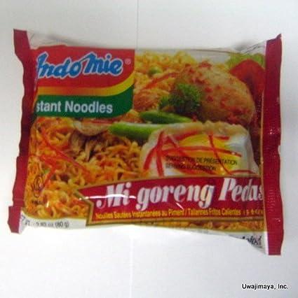 mi Goreng Pedas Review Indo Mie mi Goreng Pedas
