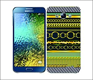 Galaxy Printed 2711 Royalty Chain Navy Hard Cover for Samsung GRAND I9082