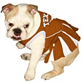 Pets First NCAA University of Texas Longhorns Cheerleader Dog Outfit, Medium Picture