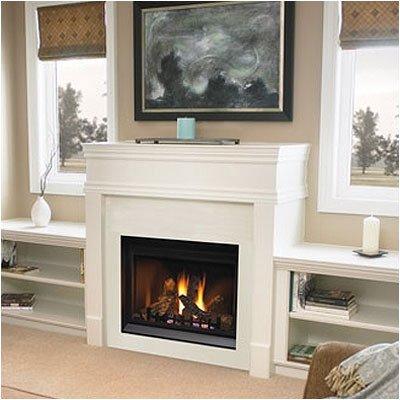 Bundle-35 Direct Vent Clean Face Fireplace (3 Pieces)