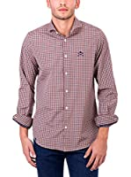 Polo Club Camisa Hombre Maverick Academy Slim (Multicolor)