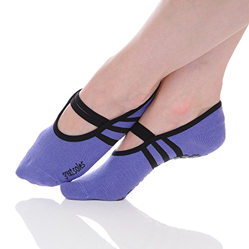 Great-Soles-Womens-Ballet-Grip-Socks-for-Barre-Pilates-Yoga-One-Size