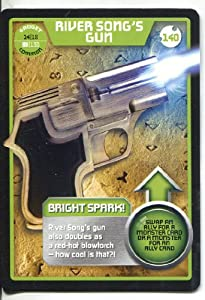 Doctor Who Monster Invasion Common Card #140 River Song's Gun