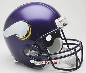 Minnesota Vikings Riddell Deluxe Replica Helmet by Hall of Fame Memorabilia
