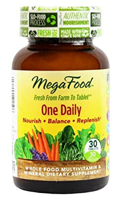 MegaFood One Daily Tablets