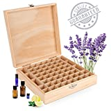 Wooden Essential Oil Box - Holds 52