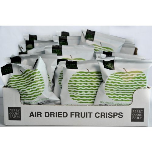Perry Court Farm Air Dried Apple Crisps - Tangy 24x20g