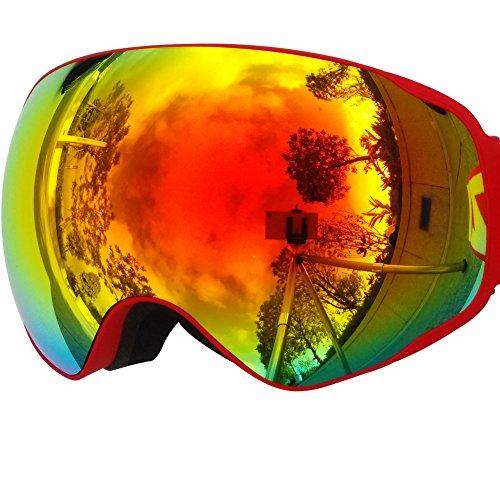 ZIONOR-Lagopus-X2-Snowboard-Patinage-Motoneige-Lunettes-de-Ski-avec-Dtachable-Extra-large-Lentille-et-Grand-Angle-Double-Anti-brouillard-Big-Sphriques-Masques-et-Lunettes