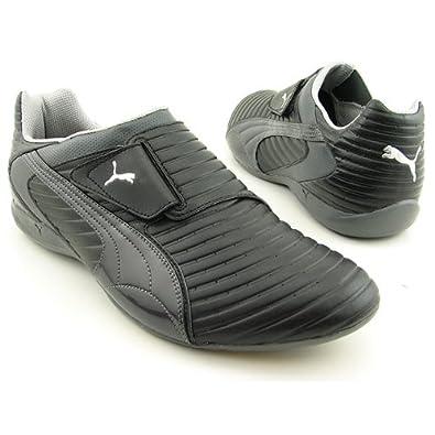 Amazon.com: PUMA Doshu Velcro Shoes Black Mens: Shoes