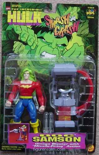 "Marvel ""Doc Samson"" w/ Omega Blaster with Missle Firing Action"