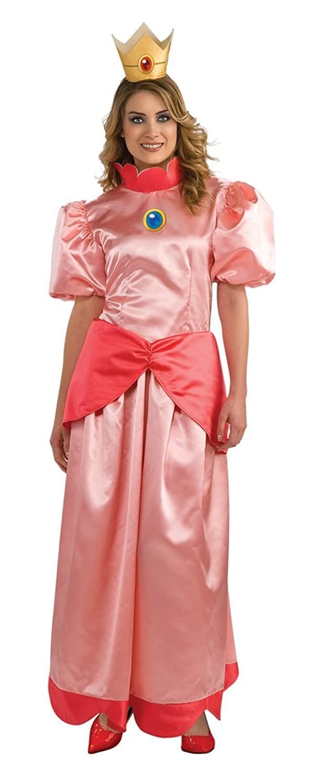 Mario Brothers Princess Peach Womens Costume (Small)