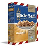 Uncle Sam Original Whole Wheat and Flaxseed Cereal, 10 Ounce (Pack of 12)