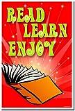 Reading Poster - Read, Learn, Enjoy