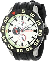 Nautica Men's N16509G BFD 100 Multifunction Luminous Dial Watch by Nautica