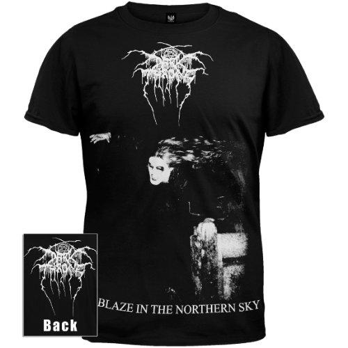 Old Glory - Darkthrone - Uomo A Blaze In The Northern Sky T-shirt Large Nero