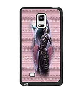 PrintDhaba Vamp D-4572 Back Case Cover for SAMSUNG GALAXY NOTE 4 EDGE (Multi-Coloured)