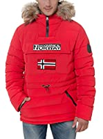 Geographical Norway Chaqueta Guateada Casimire (Rojo)
