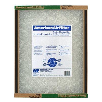 "Strata Density Fiberglass Air Filter [Set of 12] Size: 30"" x 20"""