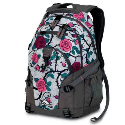 High Sierra Backpack Charcoal 19x13 5x8 5 Inch