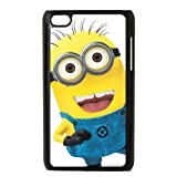 Cartoon Despicable Me Minions Hard Plastic Back Protection Case for ipod touch 4th generation