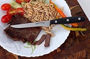 Utopia Kitchen-steakhouse Stainless-steel Steak Knife-set - 8 Pieces