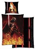 Bettwäsche Wendemotiv Star Wars Biber Baumwolle 135x200 m.Reissverschluss