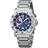 Luminox Dive Chronograph Blue Dial Stainless Steel Mens Watch 8154.RP Rating