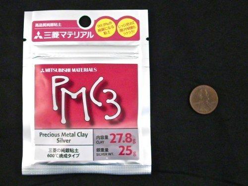 Mitsubishi PMC3 Precious Metal Clay Silver 27.8 grams