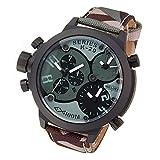 [ウェルダー]WELDER 腕時計 クロノグラフ 3タイムゾーン デイトカレンダー K29-8004 メンズ 【並行輸入品】