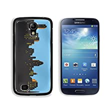 buy Msd Samsung Galaxy S4 Aluminum Plate Bumper Snap Case Retro Classic Comics Style City Skyline Image 21536038