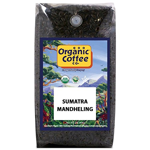 The Organic Coffee Co., Sumatra Mandheling- Whole Bean
