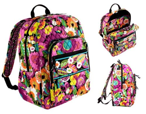 Vera Bradley Campus Backpack (Va Va Bloom)