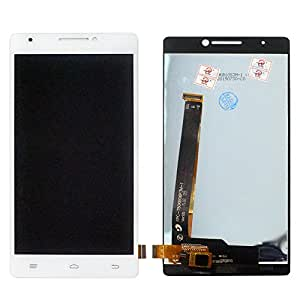 TOTTA LCD Display+Touch Screen Digitizer Combo For Intex Aqua Power HD 4G- White